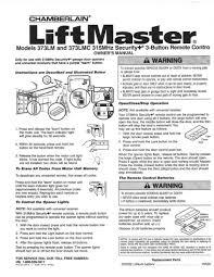 liftmaster garage door opener manual. Wonderful Liftmaster Liftmaster 373lm Garage Door Opener Remote Instructions For Liftmaster Garage Door Opener Manual R