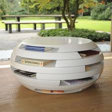 coffee table round coffee table with storage round modern coffee table with storage in white