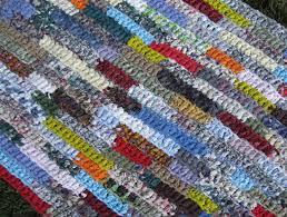 crochet rectangle rag rug pattern