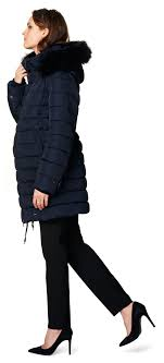 noppies winter coat anna dark blue