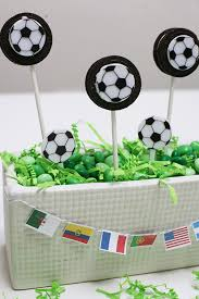 How To Decorate A Soccer Ball Cake DIY Soccer Cookie Pops Evite 58
