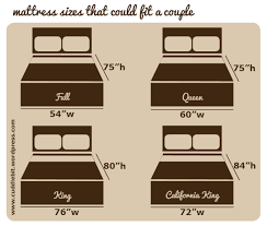 Ready made Couple's Bed sizes in Philippines. California King size is a  made to order