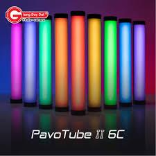 Nanlite PavoTube II 6C – Đèn Led Ống Đổi Màu RGB Tích Hợp Pin Sạc Ở Thân Nhỏ  Nhất 2020 - Giang Duy Đạt