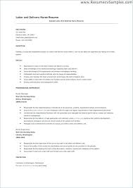 Delivery Resume Sample Courier Driver Cover Letter Delivery Resume