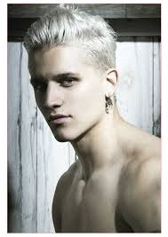 mens hairstyling tips also white hair for guys