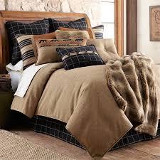 bedding deer comforter sets cabin and lodge bedding cabin style quilts bear comforter set king