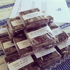 Vegan Bake Sale Recipes Buddhabellyshana Vegan Oreo Cookies And Cream Fudge Brownies My