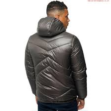 larger image kangol mens designer puffer jacket zip up hooded quilted casual winter coat gcyg60805259
