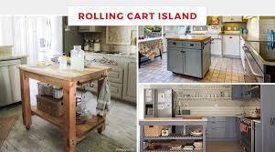 portable kitchen island ideas. Rolling Cart Kitchen Islands Portable Island Ideas