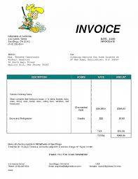 Work Invoices Work Order Invoice Template Free Unique Appliance Service Invoice 67