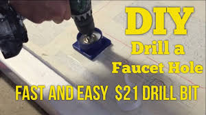 21 diy how to drill faucet holes in granite quartz or marble the fast and easy