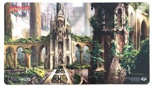 rob alexander playmat temple garden p0395