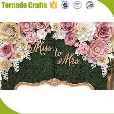 Paper Flower Decor Diy 3d Paper Floral Artificial Paper Flower Wall For Wedding