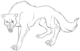 Small Picture Anime Wolf Coloring Pages Print Cartoon Coloring pages of