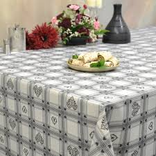 modern tablecloths  franclaire fabrics