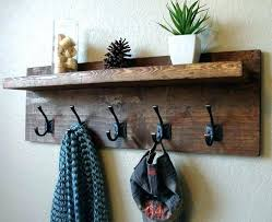 coat rack ideas rustic rustic coat hook ideas