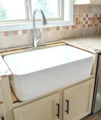 installing a farmhouse sink how to install a farmhouse sink installing farmhouse sink in existing granite