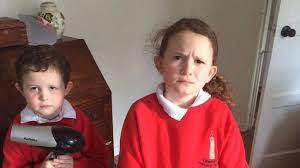 these two kids had the worst costumes for world book day