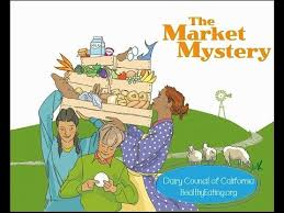 read aloud book the market mystery where food es from a read along book for kids