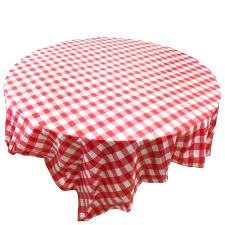 picnic table table cloth red gingham plastic disposable wipe check tablecloth party outdoor picnic disposable table