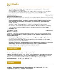 Social Media Marketing Resume Sample Experience Resumes