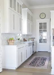 10 simple tips for styling the kitchen counters white modern farmhouse kitchen white shaker cabinets white