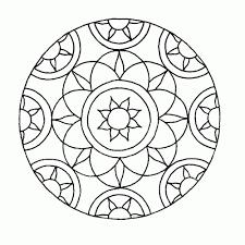 25 Nieuw Kleurplaten Mandala Makkelijk Mandala Kleurplaat Voor