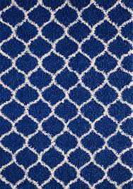 cobalt blue area rug best of modern royal blue trellis gy carpet contemporary moroccan area