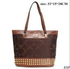 Coach Legacy Duffle In Stud Signature Medium Coffee Shoulder Bags 51552