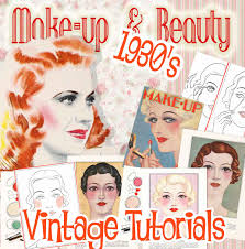 1930s makeup tutorial books