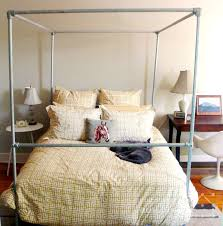 47 DIY Bed Frame Ideas Built with Pipe | Simplified Building