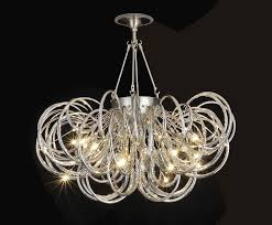modern hand blown glass chandeliers