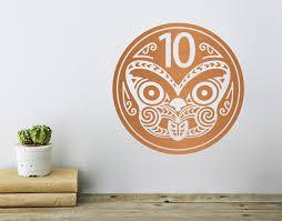 nz  on tiki wall art nz with nz 10 cent coin your decal shop nz designer wall art decals