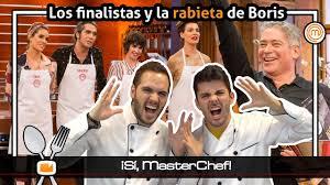 La rabieta de Boris Izaguirre en MASTERCHEF CELEBRITY 3 - ¡Sí, MasterChef!  - YouTube