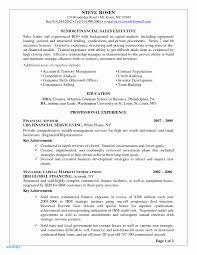 Financial Services Resume Financial Advisor Resume Example 2018 Financial Advisor Resume