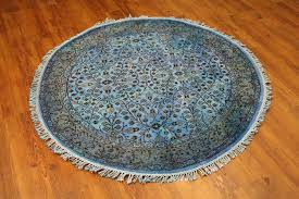 roselawnlutheran homey 5 round rugs new in stock 5ft teal overdyed rug 100 wool west of