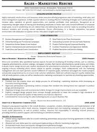 resume samples for s and marketing jobs senior marketing manager