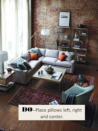 size rug design guide how to style a sectional sofa confettistyle