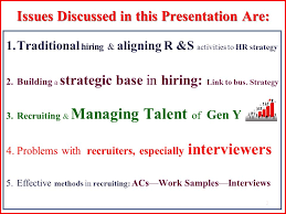 Recruitment Strategy New 48 48 Hiring Strategies Recruitment Selection R S Debi S