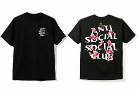 Assc Tee Size Chart New Anti Social Social Club Black Hoodie All Size 40 99