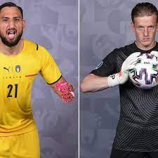 Gianluigi Donnarumma v Jordan Pickford: Battle of the goalkeepers | Euro  2020