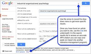 using apa and citing your sources ua