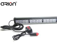 Police Car Light Bar For Sale Car Styling 12 Led 36w Emergency Vehicle Strobe Lights Windshields Flash Warning Red Blue Led Police Fireman Lamp Lightbar Emergency Vehicle Lights