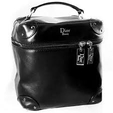 dior beauty cosmetic makeup bag vanity couple supple vanity case