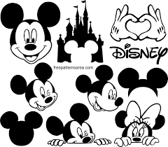 6164+ Free Svg File Mickey Mouse SVG Images File - Free Mockups | PSD  Template