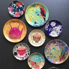 decorative plates hanging ceramic wall mora taara acceptable positive 2