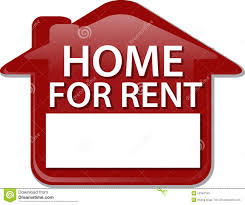 for rent sign template home for rent sign illustration clipart stock illustration