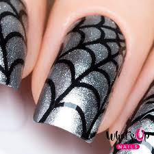 Whats Up Nails / Spider Web Stencils – Daily Charme