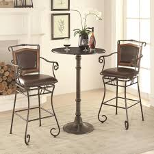 Coaster Oswego Pub Table Set With Bar Stools Dunk Bright