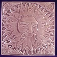 Decorative Relief Tiles Decorative handmade ceramic tile Decorative relief carved ceramic 15